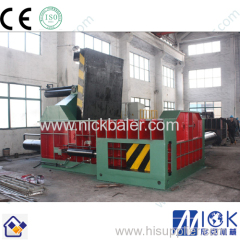 Big car cutting metal scrap baler and shear machine