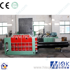 metal baling machine automatic scrap metal baler