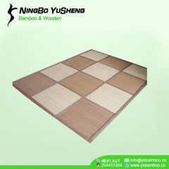 12 blocks bamboo patchwork carpet