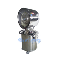 Deeri Oscillating and large capacity stainless steel water spray industrial centrifugal blower ventilator draug