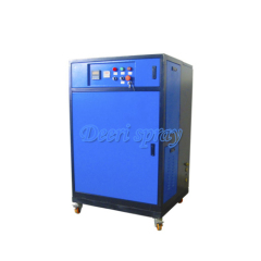 Deeri PLC control water spray industrial extra high pressure mist humidifier cooling humidify disinfection dedust