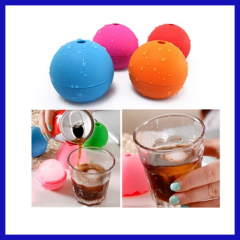 The silicone useful ice cream ball maker
