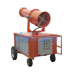 Deeri Portable long range spray large industrial cannon for dedust and humidify factory workshop construction collier