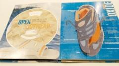Schuhherstellers casebound Geschäftsbroschürendruck