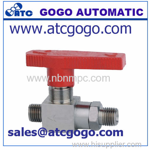 2 ways BME high pressure ball valve
