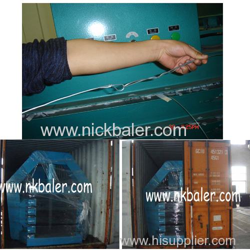 waste paper Baling Press Machine for one ton