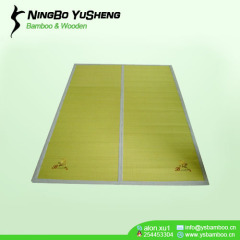 folder design 2 block bamboo mat