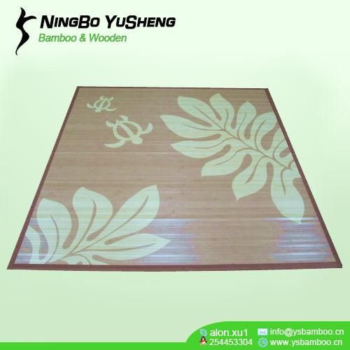 Morden printing design bamboo carpets