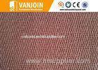 Flexible 2.5 Thickness TV Wall Panel Decorative Woven Flax Ceramic Tile for Interior Wall