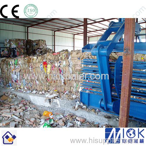 Hydraulic Baling press for Cardboard