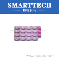 OEM Colorful Rubber Calculator Button Cover Moulding