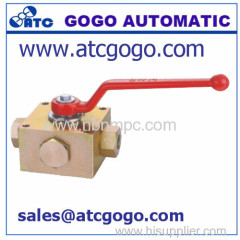 KH3 KH4 ball valve with thread connectiors