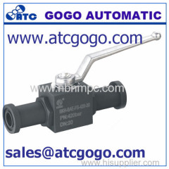 high pressure flange ball valve