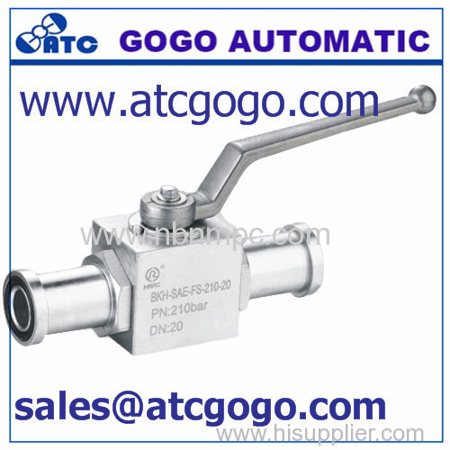 high pressure gasoline ball valve