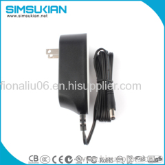 For America 12v 2a ac dc wall mount power adapter 24w series power supply