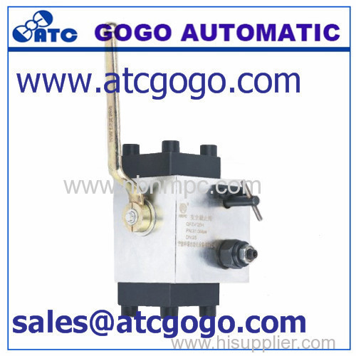 full passage with safety lock ball valve