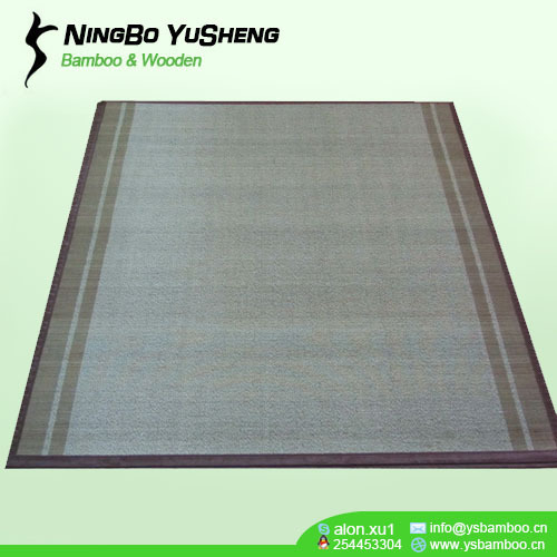 180x180cm weaving design bamboo home carpet