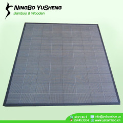 woven design bamboo room carpet