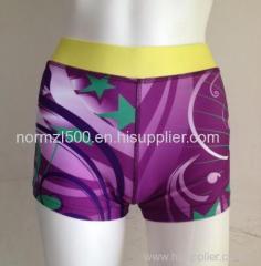 2016 top design sports cheer dance boy cut shorts cheerleader performance wear fashion style shorts