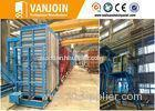 Automatic High Output Construction Material Making Machinery Vertical Mould Production Line