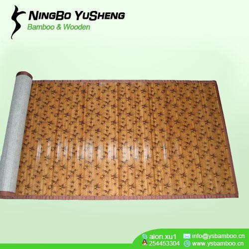 Moden printing design bamboo room mat