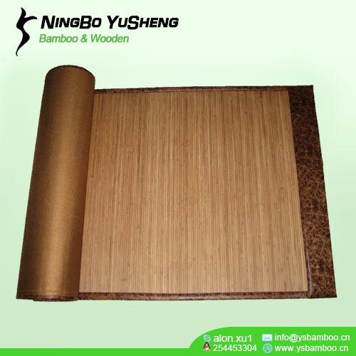super imitation leather binding bamboo mat