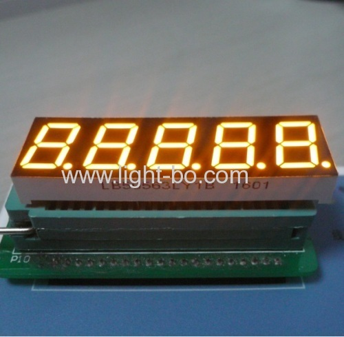 Super Red 0.56  5 Digit 7 segment led display common cathode for Digital weighing scale Indicator