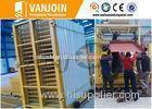 Vertical Mould Continuous Sandwich Panel Production Line For Fireproof Wall Panel