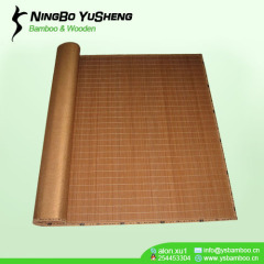 carbonize color bamboo mat