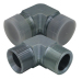 90° elbow BSP male 60 ° seat/ BSP male Adapters 1BT9-SP