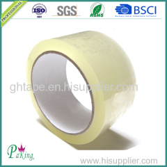 Low Noise Transparent BOPP Packing Tape for Carton Sealing
