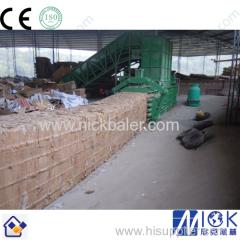 on-side service Cardboard hydraulic baling press machine