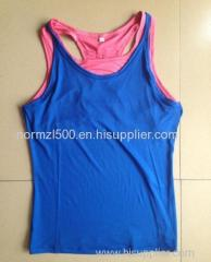 Small order custom gym sports tank top sexy vest quick dry comfortable wear shirt top