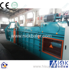 Plastic Bottle Horizontal baling Press briquetting press
