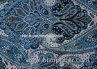 Printed Chenille Polyester Velvet Fabric Woven For Home Textile