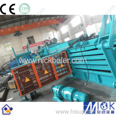 Hydraulic Bailer with recycling compactor