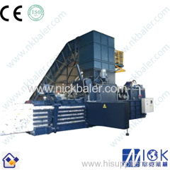 Horizontal Baler machine with two ram baler