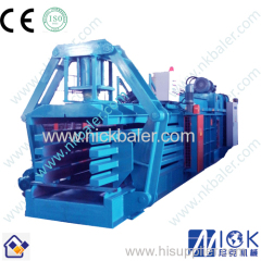 OCC waste paper compactor strapping machine