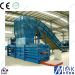 Waste paper Baling machine with automatic strapping machine