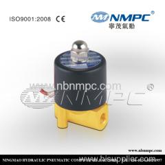 water solenoid valve plastic latching