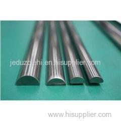 Stainless Steel Half Round Bar