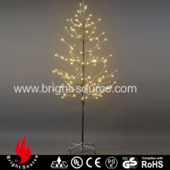 Outdoor led snow tree lights