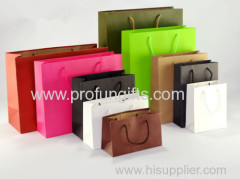 Promotional Cutom Color Printing Paper Gift Bag