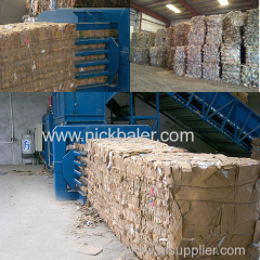 Heavy Duty Baler with Used Baler Recycling machine for sales