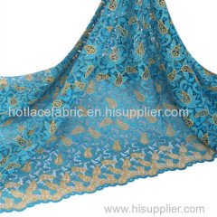 embroidery cord lace fabric