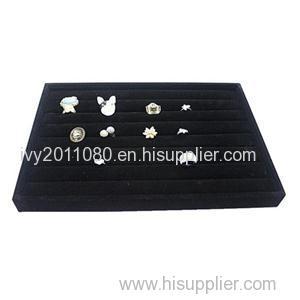 Ring Display Velvet Jewelry Box