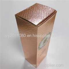 Champagne Paper Packaging Box