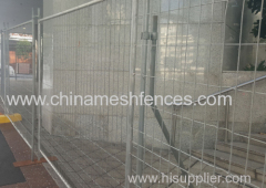 Galvanized Construction Zone Safety Fence Panel