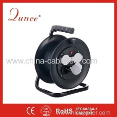 25m Plastic reel with German socket waterproof cover