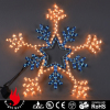 High Quality Snowflake shape led rope lights
